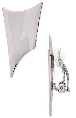 Women's Alexis Bittar Liquid Metal Clip Earrings $145 thestylecure.com