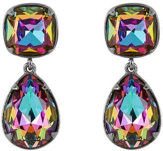 Henri Bendel Rainbow Stone Drop Earrings