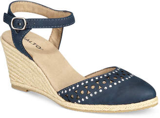 Rialto Constance Espadrille Wedge Sandals Women's Shoes