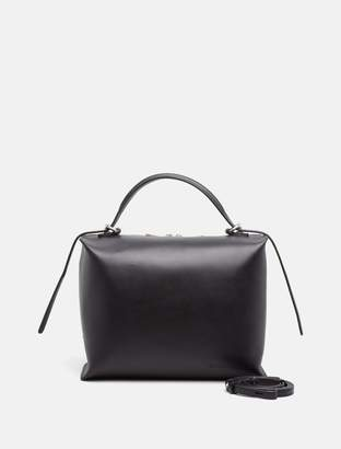 Calvin Klein leather box satchel