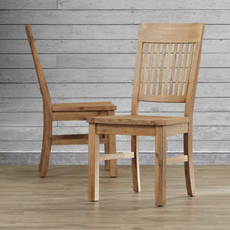 Loon Peak Chugwater Solid Wood Dining Chair (Set of 2)