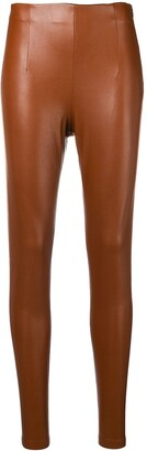Schumacher Dorothee leather effect leggings