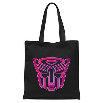 Transformers Neon Autobot Tote Bag