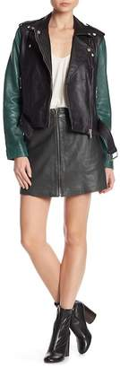 Muu Baa Muubaa Impala Leather Skirt
