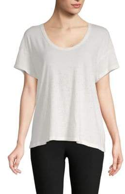 Current/Elliott Boxy V-neck Tee