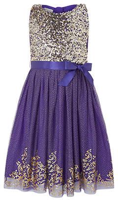 Monsoon Princess Glitter Dress