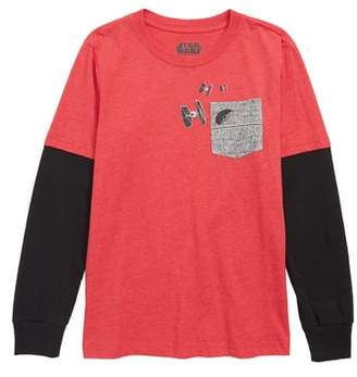 Mighty Fine x Star Wars Death Star Pocket T-Shirt