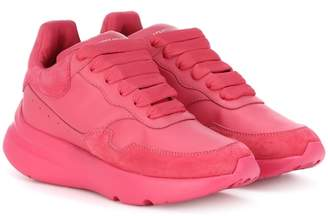 Alexander McQueen Runner leather sneakers