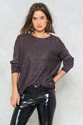 Nasty Gal True Colors Lurex Sweater