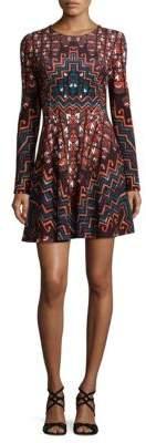 Mara Hoffman Rug Printed Mini Dress