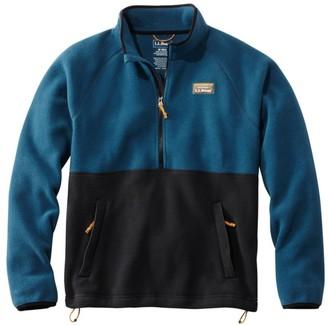 L.L. Bean L.L.Bean Men's Mountain Classic Colorblock Fleece Pullover