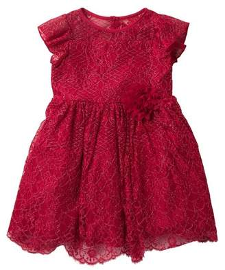 Pippa Pastourelle by and Julie Ruffle Lace Dress (Toddler & Little Girls)