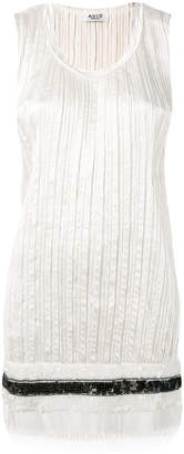 Aviu distressed pleated vest top