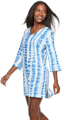 Apt. 9 Women's Tie-Dye Strappy-Back Cover-Up