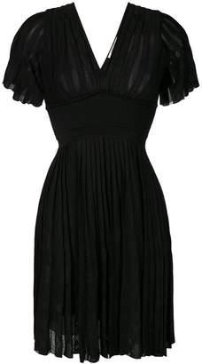 Roberto Cavalli short flared dress