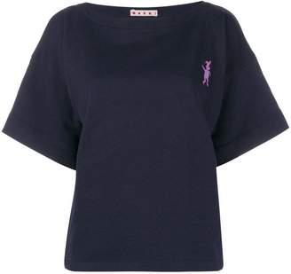 Marni rabbit logo T-shirt