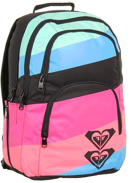 Roxy Huntress Backpack (Fuchsia Rose) - Bags and Luggage
