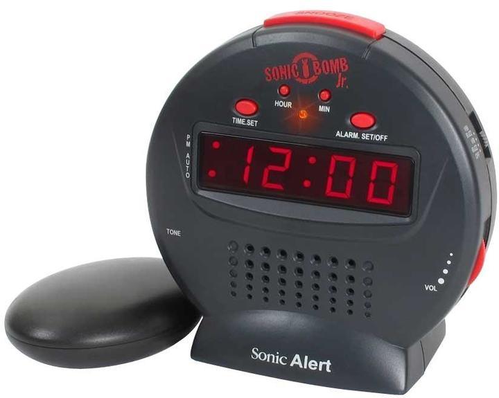Sonic Alert Bomb Jr. Alarm Clock