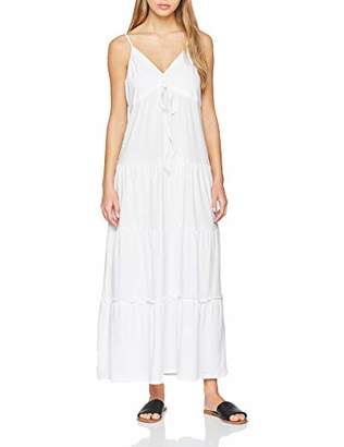 Replay Women's W9557a.000.22658o Dress, (Optical White 1), Large