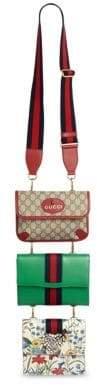 Gucci Totem Messenger, Portfolio& Clutch