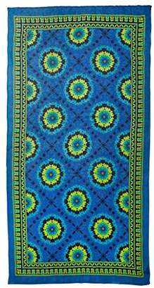 Theodora & Callum Women's Mediterranean Tile Scarf