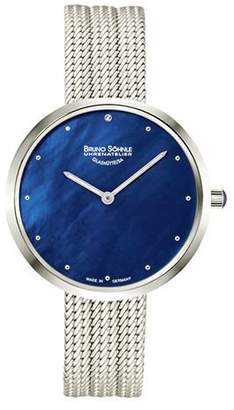 Br.Uno Söhnle Women's Analogue Watch with Stainless Steel Plated Strap 17-13171-350