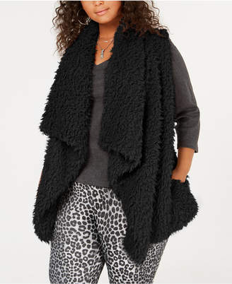 Say What Trendy Plus Size Fleece Vest