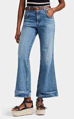 RE/DONE Women's The Ultra Bell Bottom Jeans - Blue
