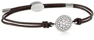 Fossil Glitz Disc Wrist Wrap Bracelet