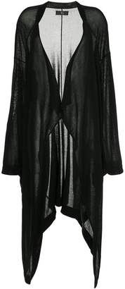 Y's long draped cardigan