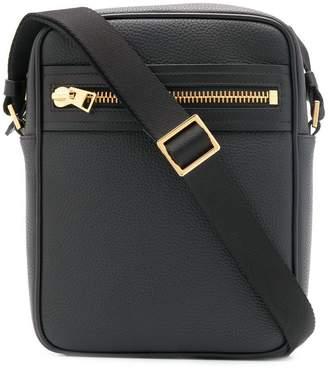 Tom Ford zip messenger bag