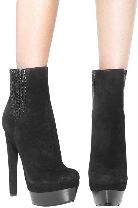 Rachel Zoe Footwear Audrey Ankle Bootie in Black