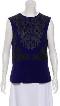 Stella McCartney Embroidered Sleeveless Top Embroidered Sleeveless Top
