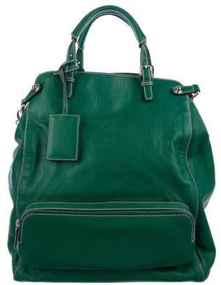 Dolce & Gabbana Leather Miss Pocket Satchel