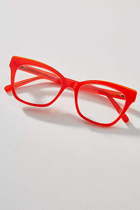 Anthropologie Heather Square Reading Glasses