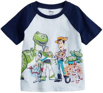2d3b72bf story. Disneyjumping Beans Disney / Pixar Toy 4 Baby Boy Raglan Graphic Tee  by Jumping