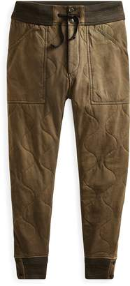 Ralph Lauren Quilted Jersey Pant
