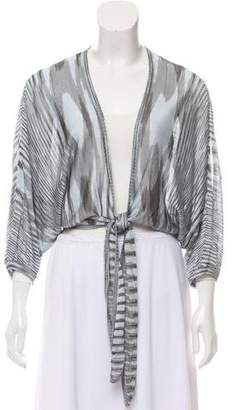 Missoni Patterned Crop Shrug