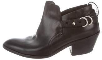 Rag & Bone Leather Short Ankle Booties