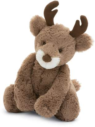 Jellycat Medium Bashful Reindeer Stuffed Animal