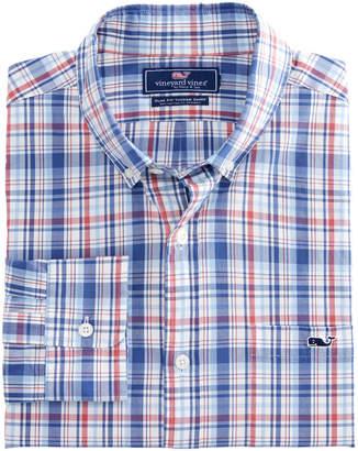 Vineyard Vines Duke's County Plaid Slim Tucker Shirt