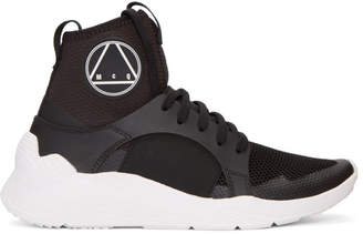 McQ Black Gishiki High-Top Sneakers