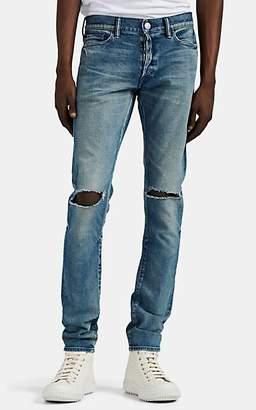 John Elliott Men's The Cast 2 Distressed Skinny Jeans - Md. Blue