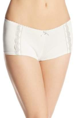Royce Women's Sadie Comfort Nursing Coordinating Boy Short Panties