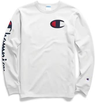 Champion Reverse Weave Life Heritage Logo Cotton Sweatshirt