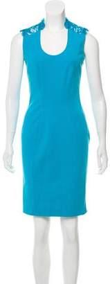 Emilio Pucci Lace-Trimmed Mini Dress w/ Tags