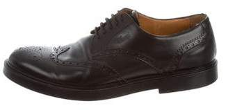 Gucci Wing Tip Perforated Oxfords