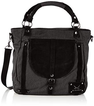 Sansibar Womens Kusi Shopper Black Size: 35x31x12