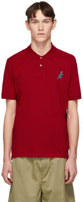 Paul Smith Red Regular Fit Dino Polo