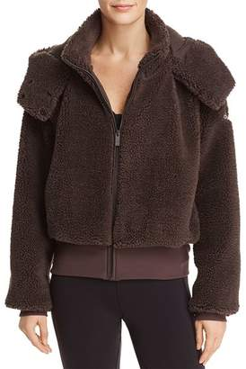 Alo Yoga Foxy Sherpa Fleece Hooded Jacket